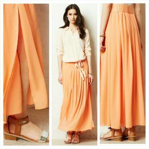 ANTHROPOLOGIE Maeve Maxi Skirt S